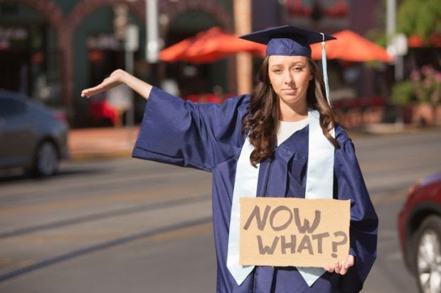 Courses after graduation confused graduate